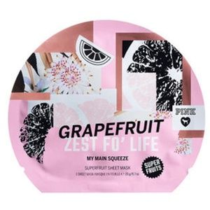 "VS ""GRAPEFRUIT ZEST FO' LIFE"" Face Mask NEW"